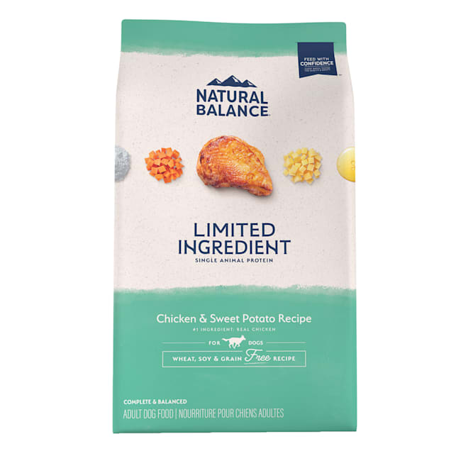 Natural Balance L.I.D. Limited Ingredient Diets Chicken & Sweet Potato Formula Dry Dog Food, 24 lbs. - Carousel image #1