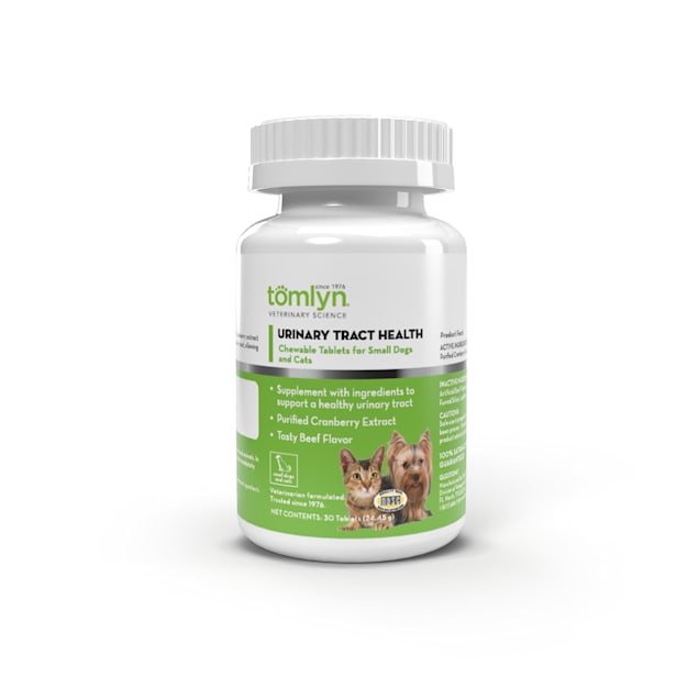 Tomlyn Urinary Tract Support Chewable Tablet for Pets, Count of 30 - Carousel image #1