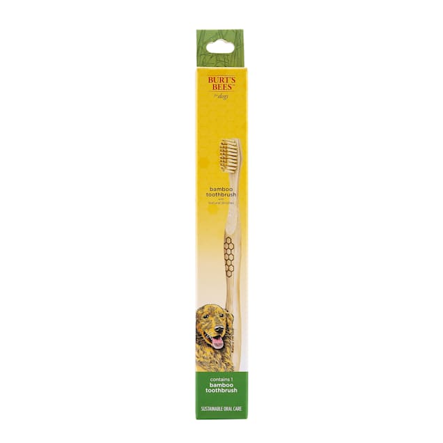 Burt's Bees Care Plus+ Bamboo Toothbrush for Dogs, 0.07 lb. - Carousel image #1
