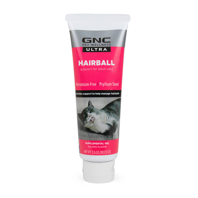 GNC Ultra Hairball Control Gel/Paste Petroleum-Free for Cats, 3.5 oz. - Carousel image #1