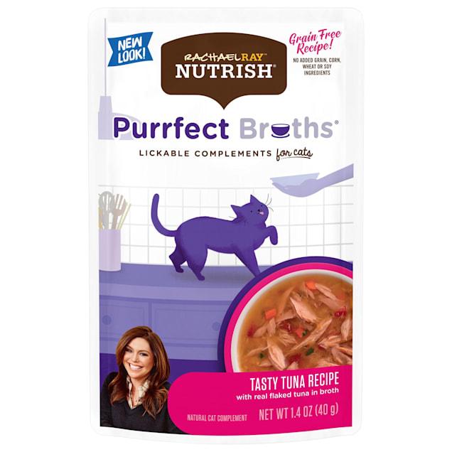 Rachael Ray Nutrish Purrfect Broths Tasty Tuna Recipe Lickable Cat Treats, 1.4 oz. - Carousel image #1