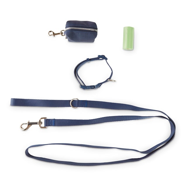 Bond & Co. Charcoal 3-Piece Walking Kit for Dogs, Small - Carousel image #1