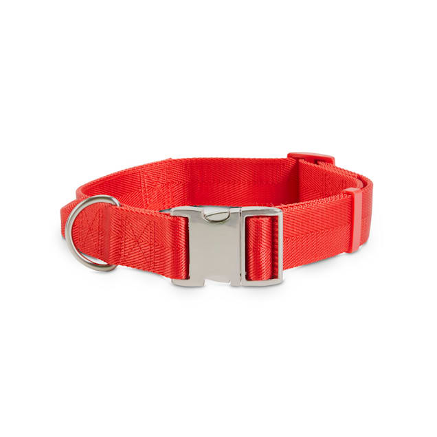 Good2Go Red Big Dog Collar with Traffic Handle, X-Large/XX-Large - Carousel image #1