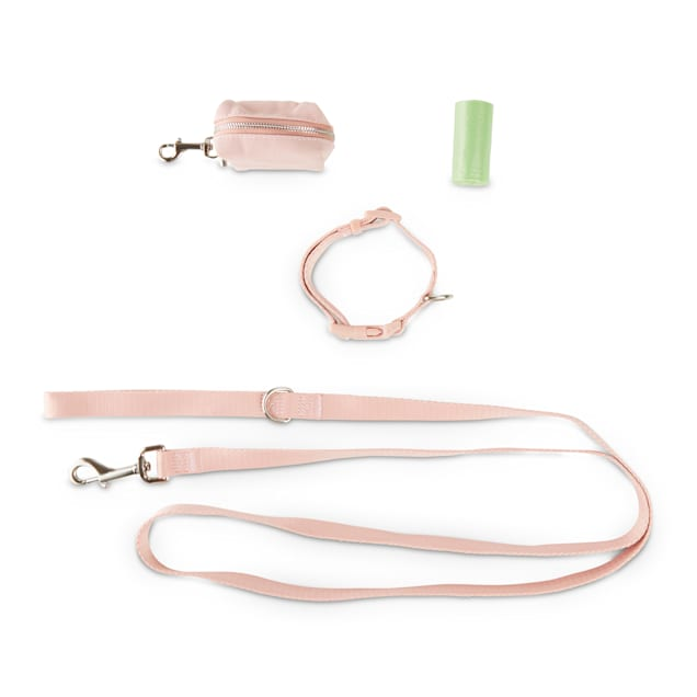 Bond & Co. Pink 3-Piece Walking Kit for Dogs, Small - Carousel image #1