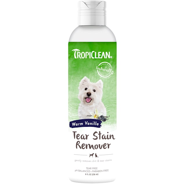 TropiClean Tear Stain Remover for Pets, 8 oz. - Carousel image #1