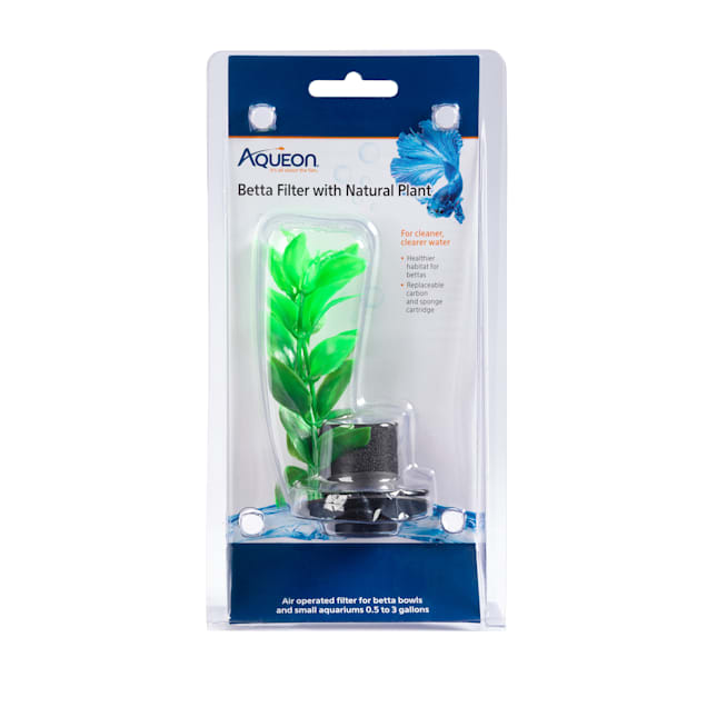 Aqueon Betta Filter with Plant - Carousel image #1