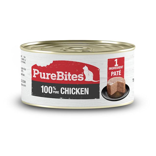 PureBites Chicken Pate Cat Treats, 2.5 oz., Case of 12 - Carousel image #1