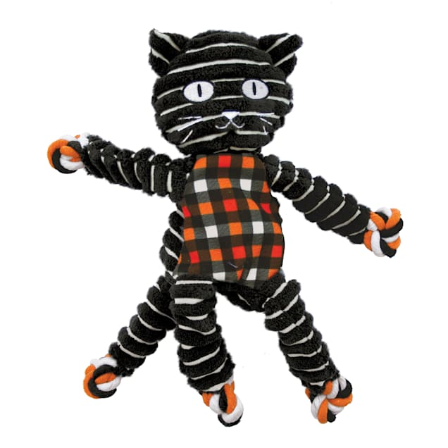 KONG Halloween Floppy Knots Cat Toy For Dogs, Medium - Carousel image #1