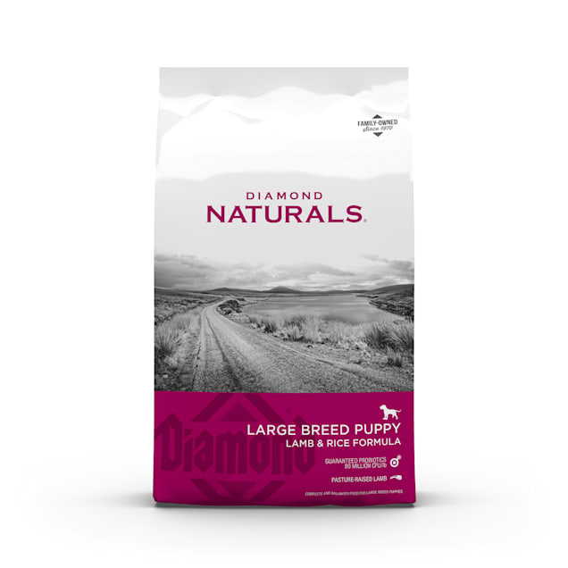 Diamond Naturals Large Breed Lamb Flavor Dry Puppy Food, 40 lbs. - Carousel image #1