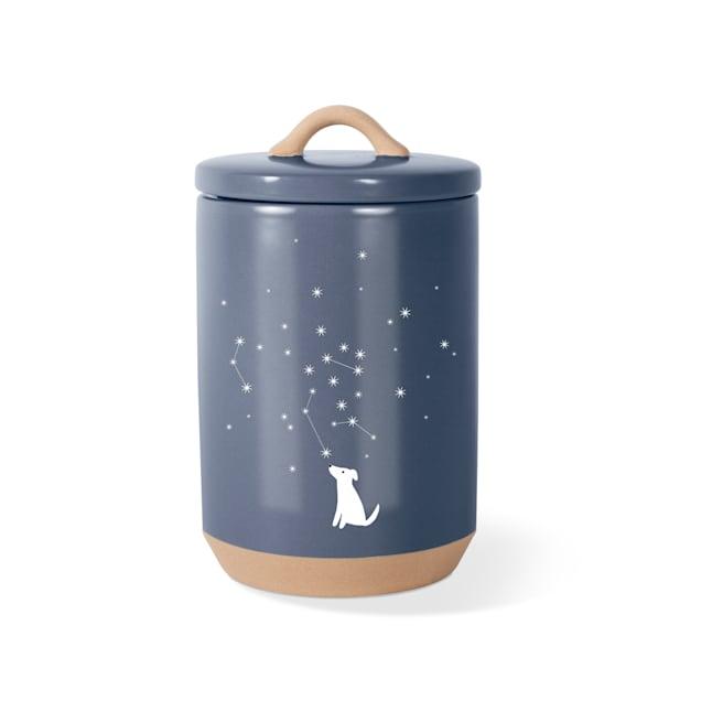 PetShop by Fringe Studio Celestial Dog Stoneware Pet Treat Jar - Carousel image #1