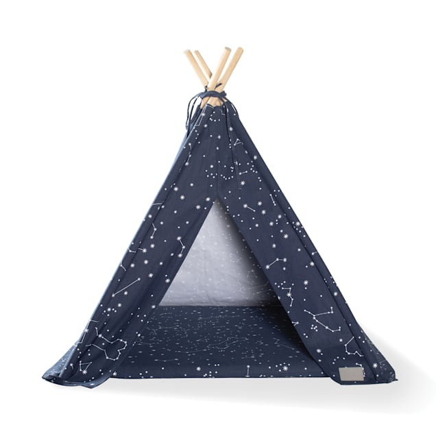 """PetShop by Fringe Studio Celestial Teepee for Pets, 7.1"""" L X 7.1"""" W - Carousel image #1"""