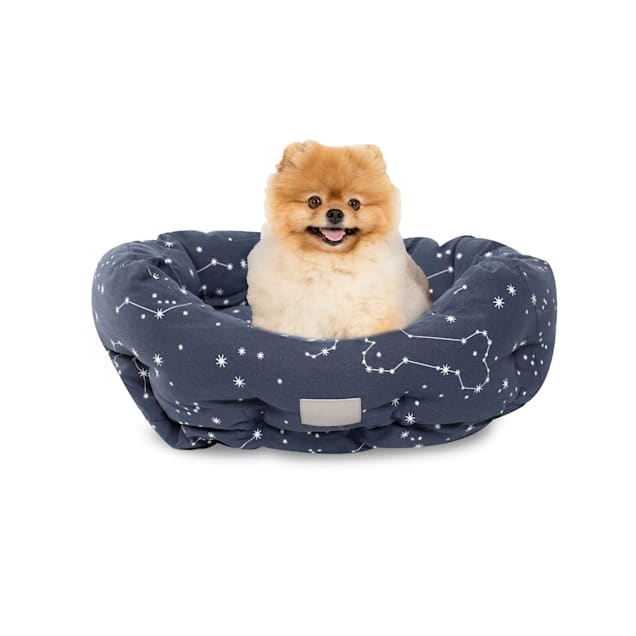 "PetShop by Fringe Studio Celestial Round Pet Cuddler, 20"" L X 19"" W - Carousel image #1"