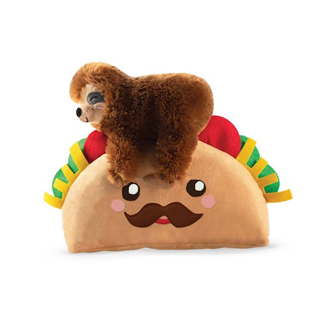 PetShop by Fringe Studio Taco Sloth Plush Dog Toy - Carousel image #1