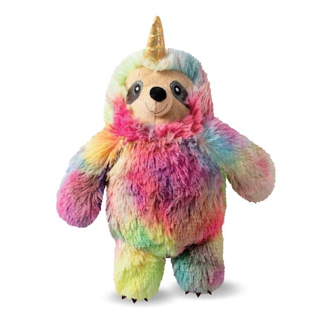 PetShop by Fringe Studio Confetti Betti Slothicorn Plush Dog Toy - Carousel image #1