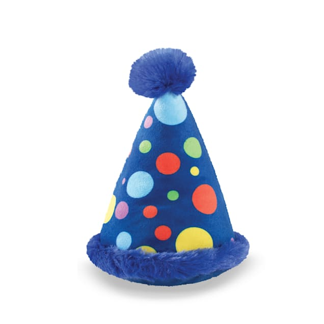 PetShop by Fringe Studio Party Hat Pet Toy, Small - Carousel image #1