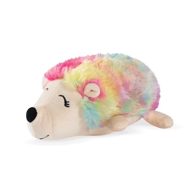 PetShop by Fringe Studio Rainbow Hedgehog Plush Dog Toy - Carousel image #1