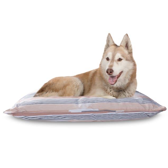 """PetShop by Fringe Studio Textile Lines Pillow Pet Bed, 36"""" L X 27"""" W - Carousel image #1"""