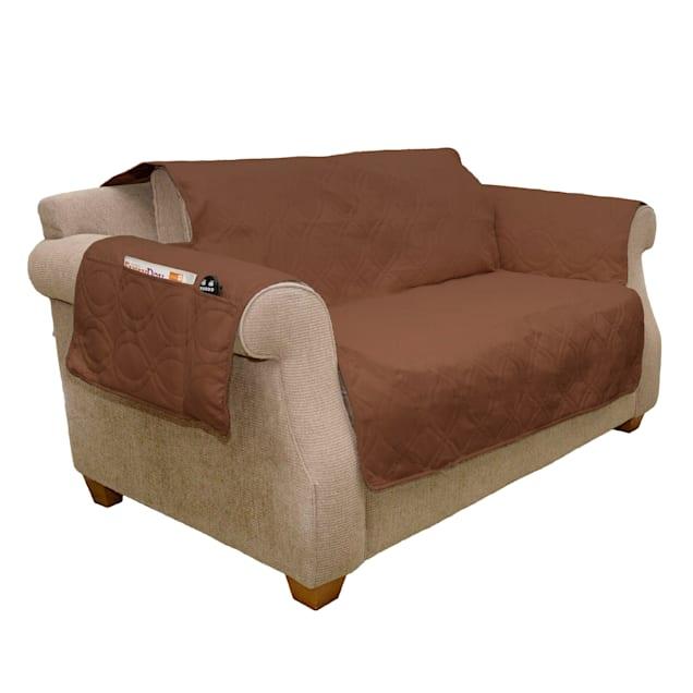 """PETMAKER Pet Waterproof Brown Furniture Cover, 91"""" L X 75.5"""" W X 0.25"""" H - Carousel image #1"""