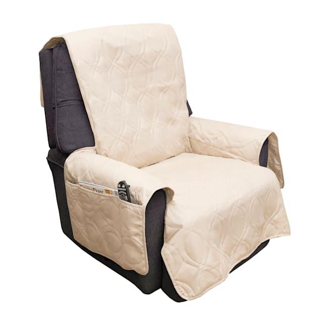 "PETMAKER Pet Waterproof Tan Furniture Cover for Chair, 78"" L X 73"" W X 0.25"" H - Carousel image #1"