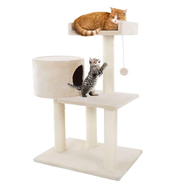 "PETMAKER 3 Tier Cat Tree, 31"" H - Carousel image #1"