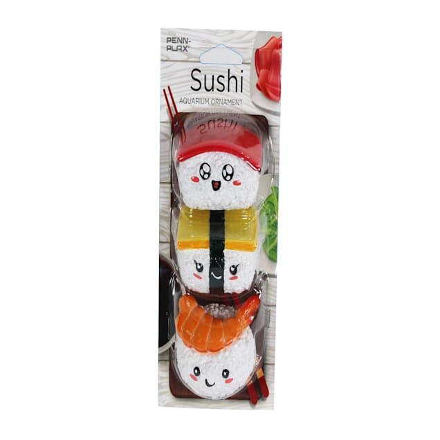 Penn-Plax Sushi Nigiri Aquarium Decor, Pack of 3 - Carousel image #1