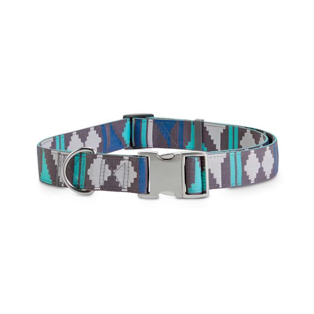 Good2Go Grey & Blue Desert Dweller Big Dog Collar, X-Large/XX-Large - Carousel image #1