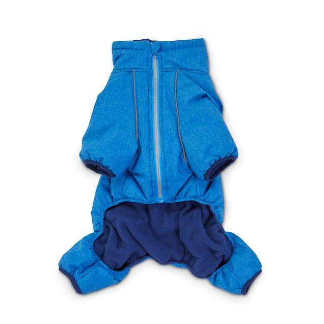Good2Go Blue Fleece-Lined Dog Snowsuit, Small - Carousel image #1