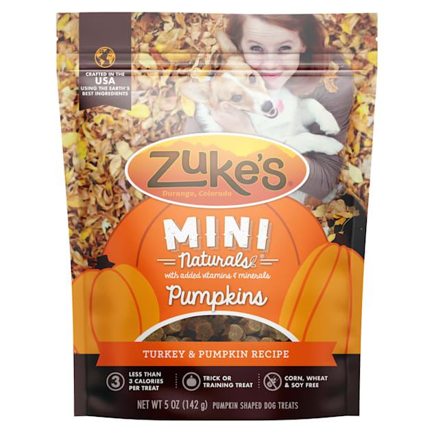 Zuke's Mini Naturals Turkey & Pumpkin Recipe Dog Treats, 5 oz. - Carousel image #1