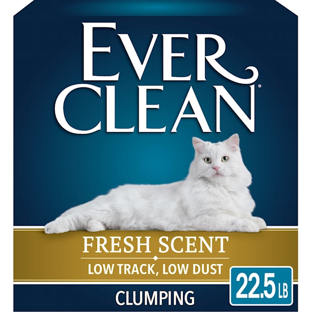 Ever Clean Fresh Scent Super Premium Low Tracking, Low Dust, Clumping Cat Litter, 22.5 lbs. - Carousel image #1