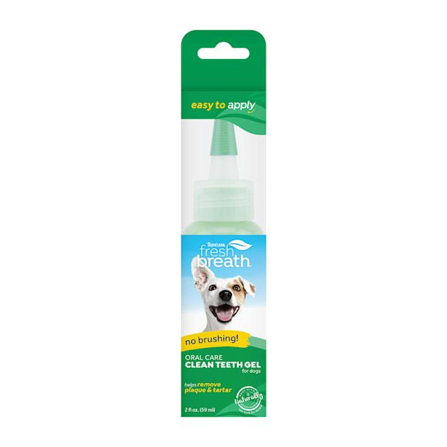 Fresh Breath by TropiClean No Brushing Clean Teeth Dental & Oral Care Gel for Dogs, 2 fl. oz. - Carousel image #1