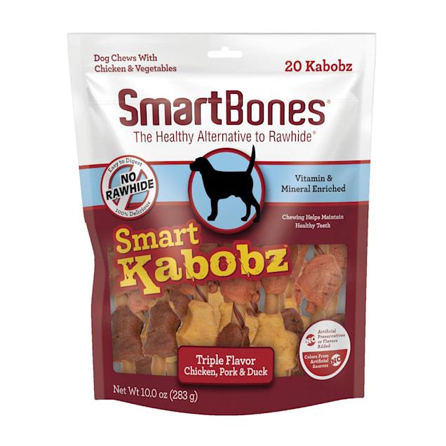SmartBones Smart Kabobz Dog Treats, 0.779 lb., Count of 20 - Carousel image #1
