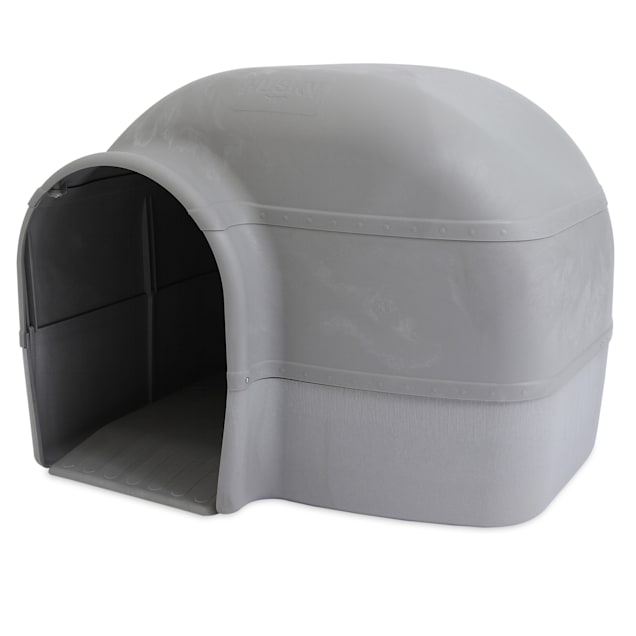 "Petmate Husky Indigo Dog House, 33"" L X 32.5"" W X 26"" H - Carousel image #1"