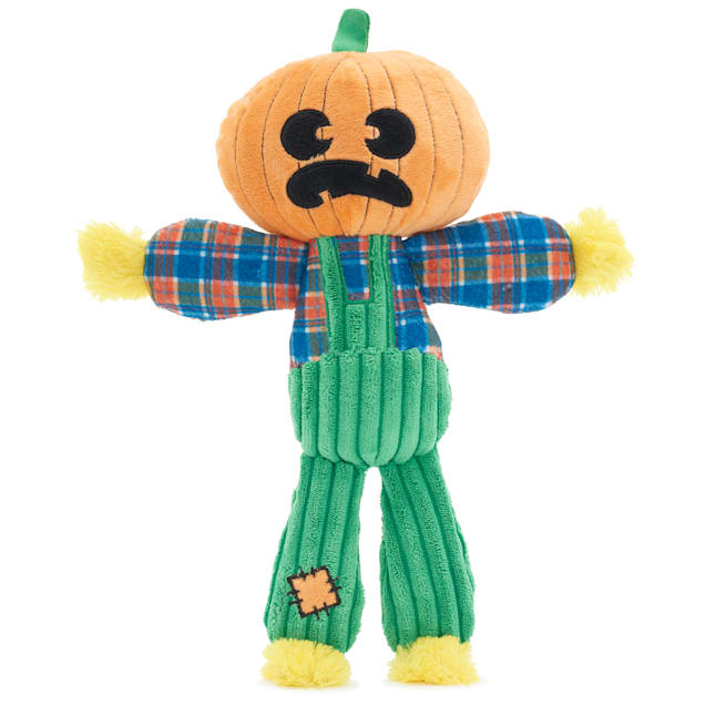 BARK Ol' Pumpkin Patches Dog Toy, Large - Carousel image #1