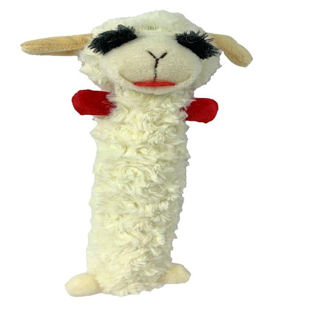 Multipet International Long Body Lamb Chop Dog Toy - Carousel image #1