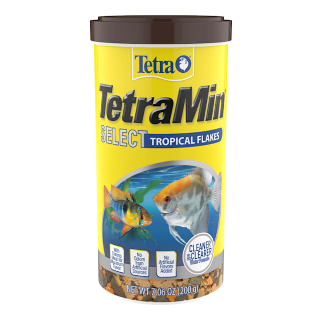 Tetra TetraMin Select Tropical Flakes, 7.06 oz. - Carousel image #1