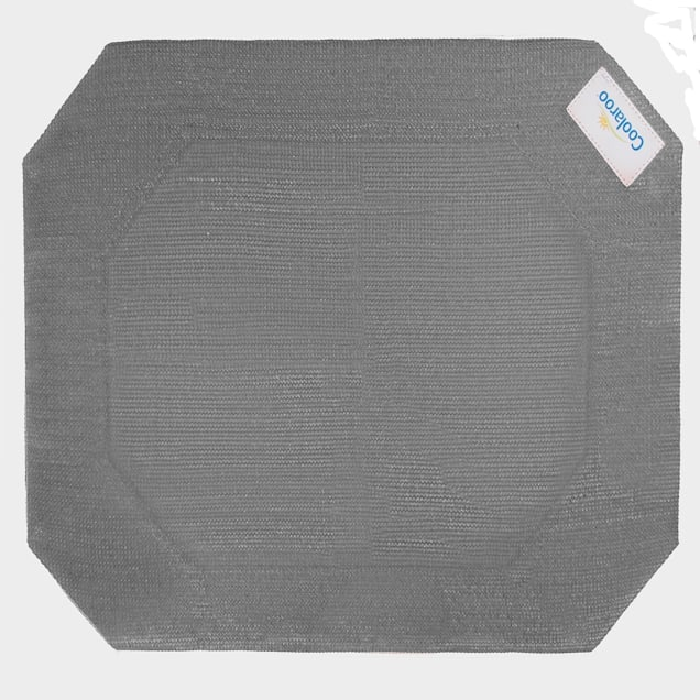 "Coolaroo Grey Elevated Dog Bed Replacement Cover, 35.5"" L X 25.75"" W X 0.12"" H - Carousel image #1"