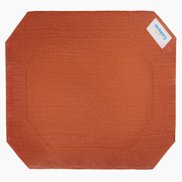 """Coolaroo Terracotta Elevated Dog Bed Replacement Cover, 28"""" L X 22.75"""" W X 0.12"""" H - Carousel image #1"""