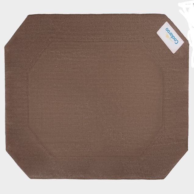 """Coolaroo Nutmeg Elevated Dog Bed Replacement Cover, 28"""" L X 22.75"""" W X 0.12"""" H - Carousel image #1"""