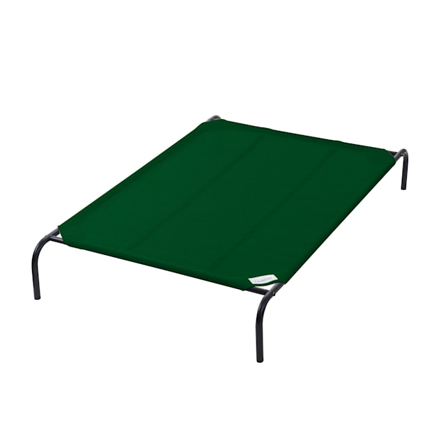 """Coolaroo Green Elevated Dog Bed, 37"""" L X 59.8"""" W X 8"""" H - Carousel image #1"""
