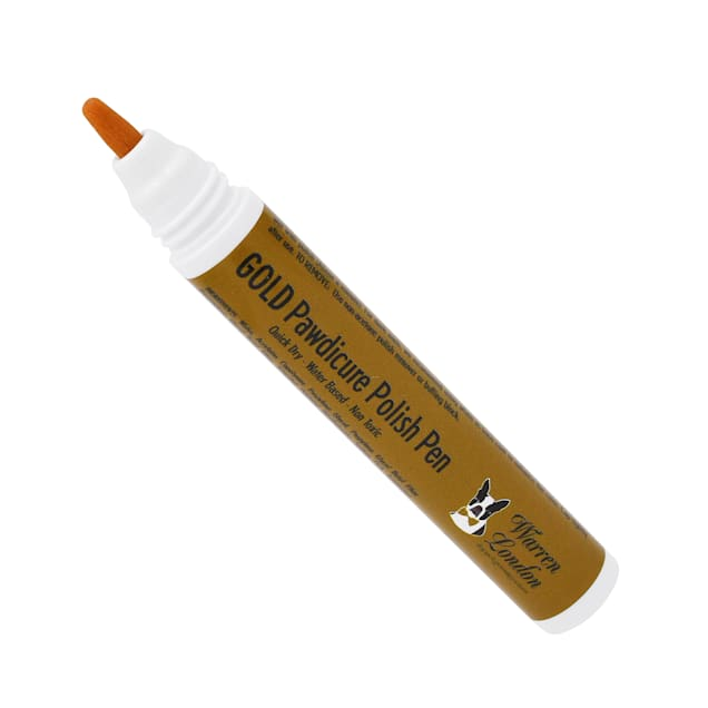 Warren London Dog Pawdicure Gold Polish Pen, 0.16 fl. oz. - Carousel image #1
