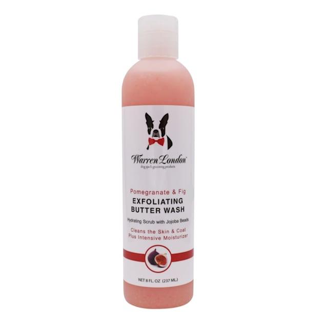 Warren London Pomegranate & Fig Exfoliating Butter Wash Shampoo for Dogs, 8 fl. oz. - Carousel image #1
