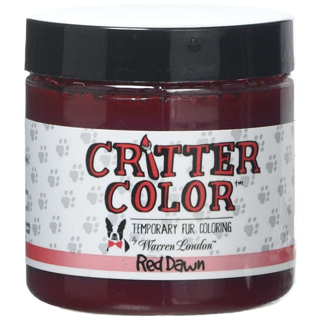 Warren London Critter Color Sweet Avery Red Temporary Fur Coloring for Dogs, 4 fl. oz. - Carousel image #1