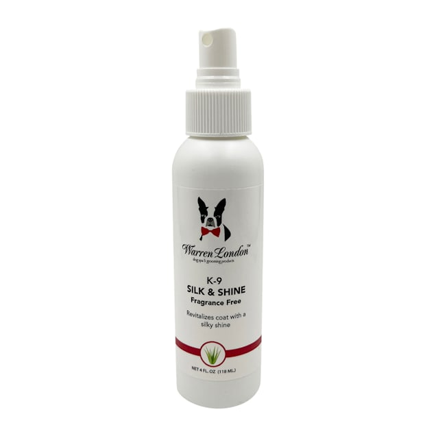 Warren London K9 Silk & Shine Conditioner for Dogs, 4 fl. oz. - Carousel image #1