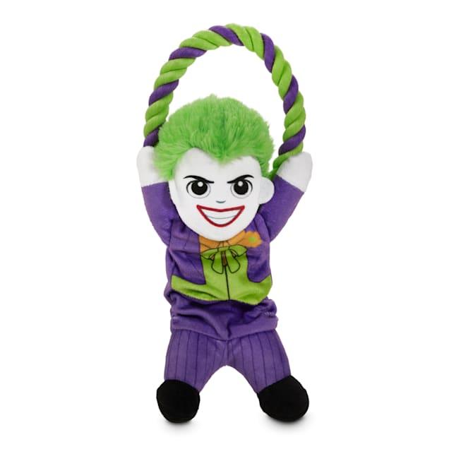 DC Comics Joker Plush & Rope Bungee Dog Toy, Medium - Carousel image #1