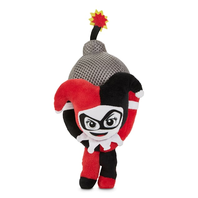 DC Comics Harley Quinn LED Plush Dog Toy, Medium - Carousel image #1
