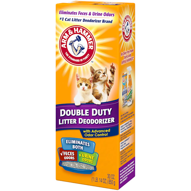 Arm & Hammer Deodorizer Double Duty Cat Litter, 30 oz. - Carousel image #1