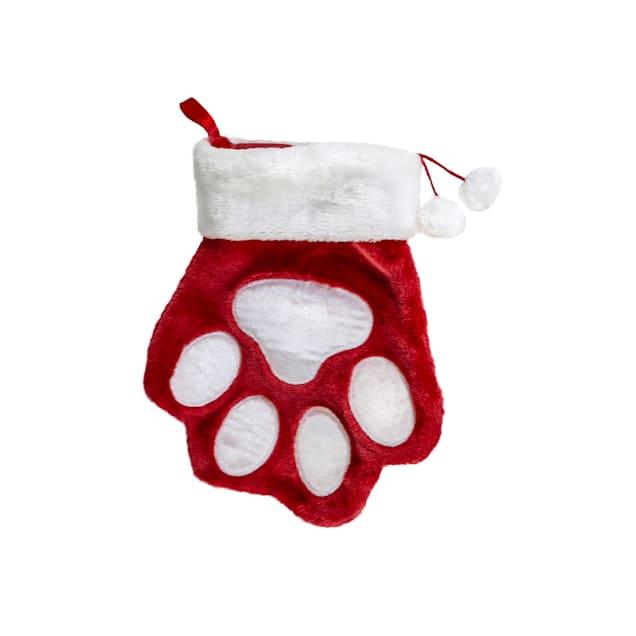 KONG Stocking Paw Dog Toy, Large - Carousel image #1