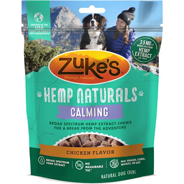 Zuke's Hemp Naturals Calming Chicken Formula Dog Treats, 5 oz. - Carousel image #1
