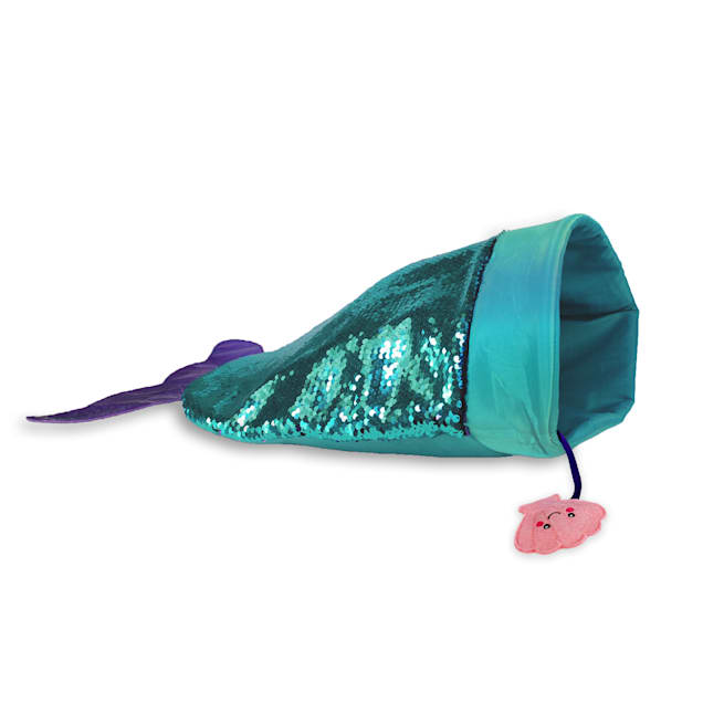 KONG Play Spaces SeaQuins Mermaid Cat Toys, Medium - Carousel image #1