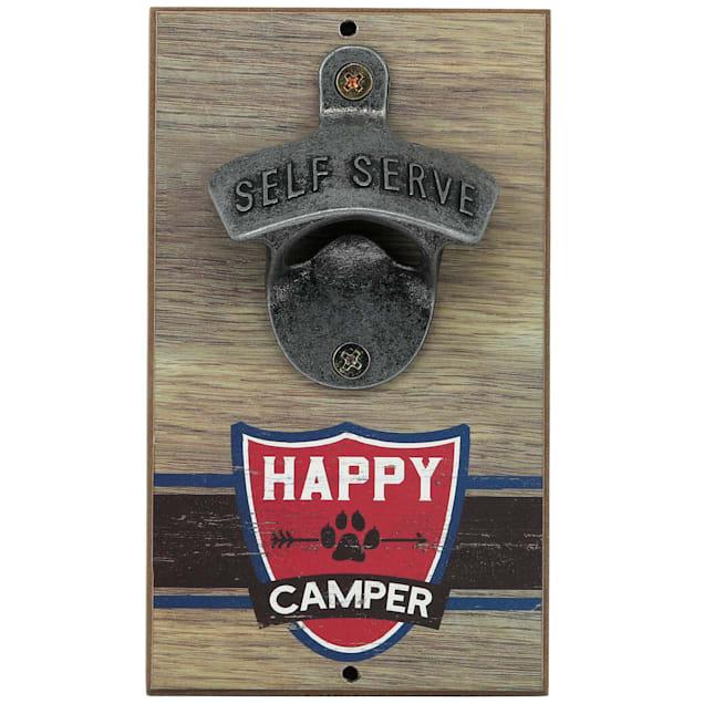 Open Road Brands Happy Camper Dog Bottle Opener - Carousel image #1